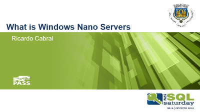 Wthat is Windows Nano Servers imagem do slide