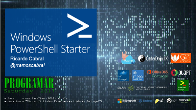 Windows PowerShell Starter imagem do slide